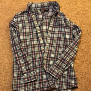 Kid's Plaid Vineyard Vines Flannel